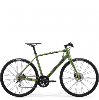 Велосипед Merida Speeder 100 (2020) MattFogGreen/DarkGreen/Gold