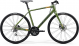 Велосипед Merida Speeder 100 (2020) MattFogGreen/DarkGreen/Gold 1