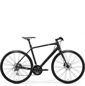 Велосипед Merida Speeder 100 (2020) MattBlack/GlossyBlack/Silver