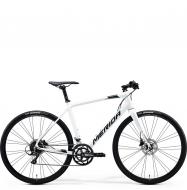 Велосипед Merida Speeder 200 (2020) White/DarkSilver/Gold