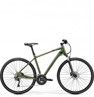 Велосипед Merida Crossway XT Edition (2020) Matt Fog Green