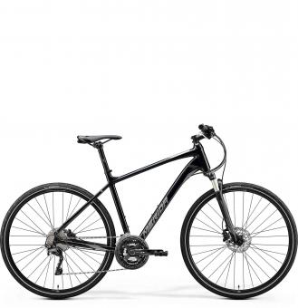 Велосипед Merida Crossway XT Edition (2020) GlossyBlack/MattSilver/Black