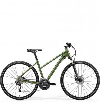 Велосипед Merida Crossway XT Edition Lady (2020) Matt Fog Green
