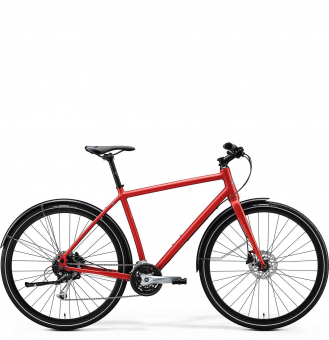 Велосипед Merida Crossway Urban 100 (2020) MattX'MasRed/LightRed