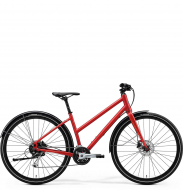 Велосипед Merida Crossway Urban 100 Lady (2020) MattX'MasRed/LightRed