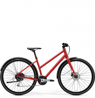 Велосипед Merida Crossway Urban 100 Lady (2020) MattX'MasRed/LightRed