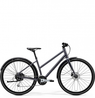 Велосипед Merida Crossway Urban 100 Lady (2020) GlossyAnthracite/Black