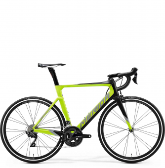 Велосипед Merida Reacto 4000 (2020) Matt Black/Glossy Green