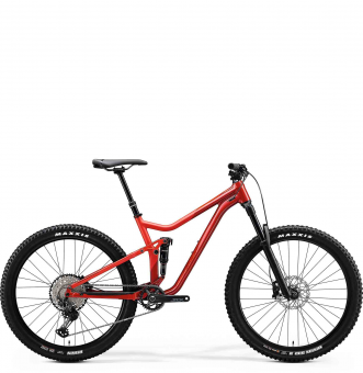 Велосипед Merida One-Forty 700 (2020) Glossy X'Mas Red/Matt Red
