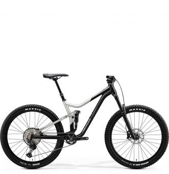 Велосипед Merida One-Forty 700 (2020) Silk Black/Titan