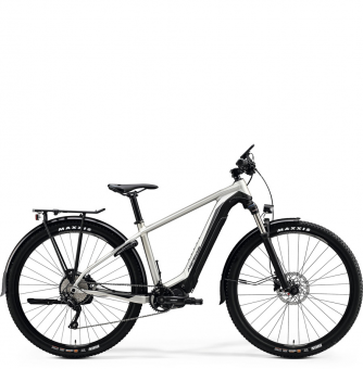 Электровелосипед Merida eBig.Nine 400 EQ (2020) Matt Titan/Black