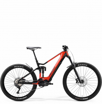 Электровелосипед Merida eOne-Sixty 5000 (2020) Glossy Race Red/Matt Black