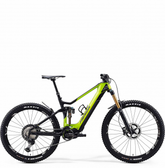 Электровелосипед Merida eOne-Sixty 9000 (2020) Glossy Green/Matt Black