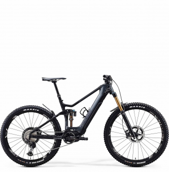 Электровелосипед Merida eOne-Sixty 9000 (2020) Glossy Dark Grey/Matt Black