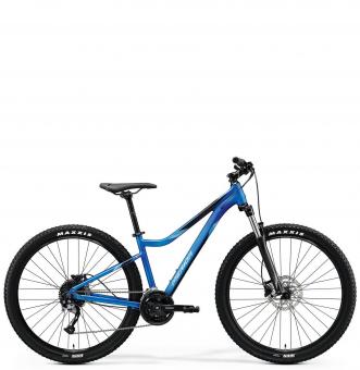 Велосипед Merida Matts 7.100 (2020) MattMediumBlue/Silver-Blue/Black