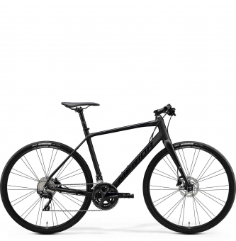 Велосипед Merida Speeder 400 (2020) MattBlack/GlossyBlack