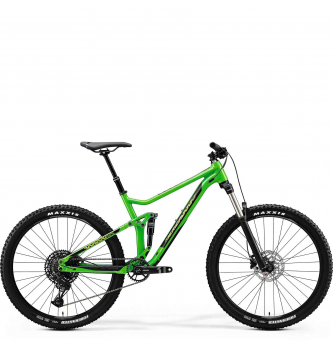 Велосипед Merida One-Twenty 7.400 (2020) GlossyGreen/Black