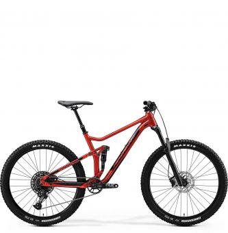 Велосипед Merida One-Twenty 7.600 (2020) GlossyX'masRed/Black