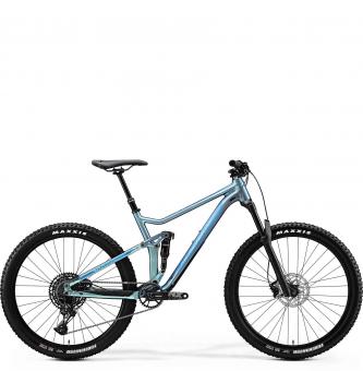 Велосипед Merida One-Twenty 7.600 (2020) SilkSparklingBlue/Blue