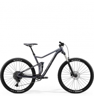 Велосипед Merida One-Twenty 9.400 (2020) GlossyAnthracite/Silver