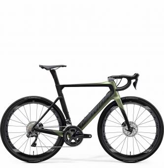 Велосипед Merida Reacto Disc 8000-E (2020) SilkFogGreen/Black