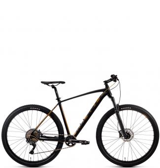 Велосипед Aspect AMP ELITE 29 черно-золотой (2020)