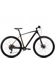 Велосипед Aspect AMP ELITE 27.5 черно-золотой (2020)