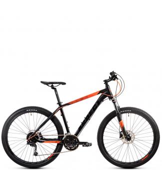 Велосипед Aspect AIR COMP 27.5 черно-оранжевый (2020)