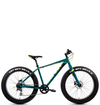 Велосипед Aspect Discovery 26 сине-зеленый (2020)