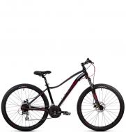 Велосипед Aspect ALMA 27.5 черно-фиолетовый (2020)