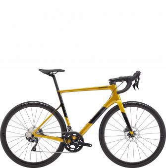 Велосипед Cannondale SuperSix EVO Carbon Disc Ultegra (2020) Goldfinger