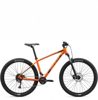 Велосипед Giant Talon 29 2 (2020) Orange/Gunmetal Black