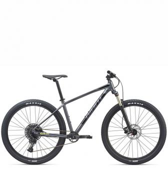 Велосипед Giant Talon 29 1 (2020) Charcoal/Neon Yellow