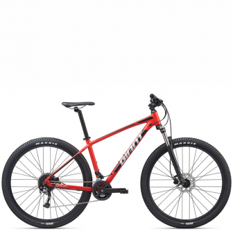 Велосипед Giant Talon 29 3 GE (2020) Pure Red/Silver