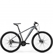 Велосипед Merida Big.Nine 20 (2020) Matt Anthracite (Black/Silver)