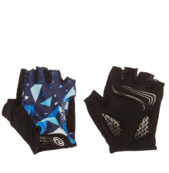Перчатки велосипедные Jaffson Blue
