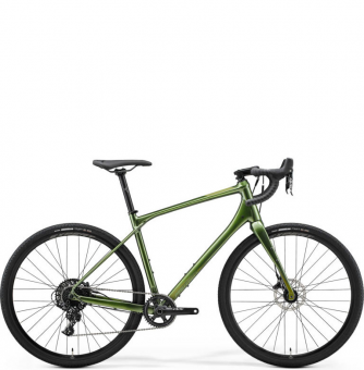 Велосипед гравел Merida Silex 600 (2021) Glossy Fog Green (Matt Green)