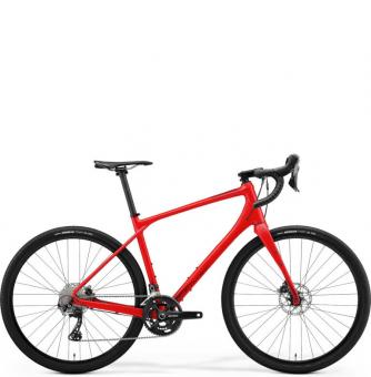 Велосипед гравел Merida Silex 700 (2021) Matt Race Red (Glossy Dark Red)