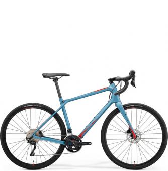 Велосипед гравел Merida Silex 4000 (2021) MattTeal-Blue/GlossyRed