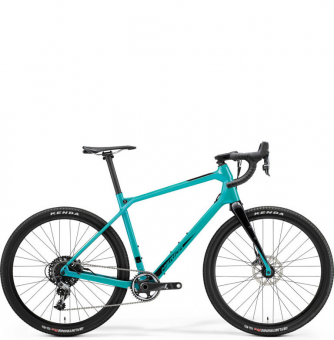 Велосипед гравел Merida Silex 6000+ (2021) MetallicTeal/Black