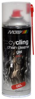 Очиститель цепных передач Motip Cycling Gel 400 ml