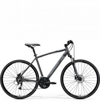 Велосипед Merida Crossway 40 (2020) Silk Anthracite (Black/Silver)