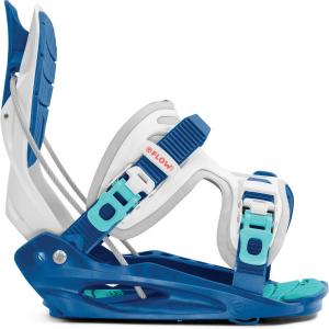 Крепления для сноуборда Flow Micron Youth white/blue (2020)