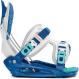 Крепления для сноуборда Flow Micron Youth white/blue (2020) 1