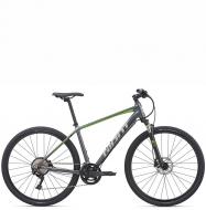 Велосипед Giant Roam 1 Disc (2020) Charcoal / Green