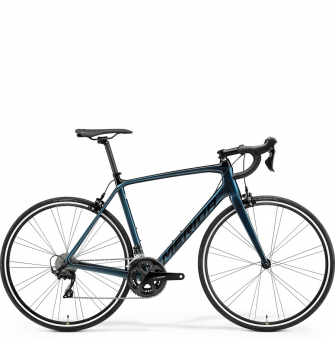 Велосипед Merida Scultura Rim 4000 (2021) Black/Teal-Blue