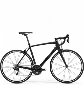 Велосипед Merida Scultura Rim 4000 (2021) GlossyBlack/MattBlack