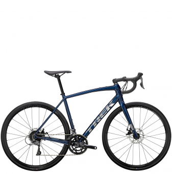 Велосипед Trek Domane AL 2 Disc (2021) Gloss Mulsanne Blue/Matte Trek Black