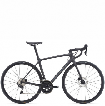 Велосипед Giant TCR Advanced 2 Disc (2021) Matte Carbon