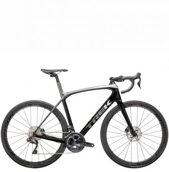 Велосипед Trek Domane SLR 7 (2021) Black/Quicksilver-Anthracite Fade